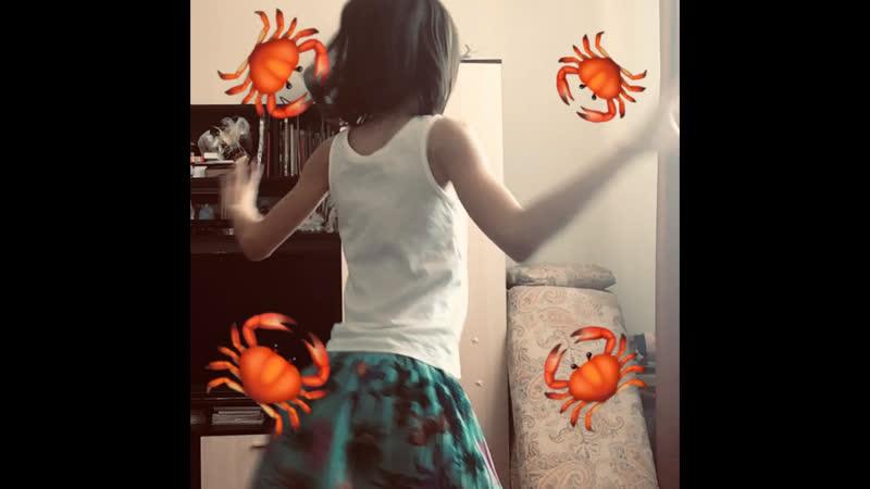 🦀Танец крабика crab rave 🦀