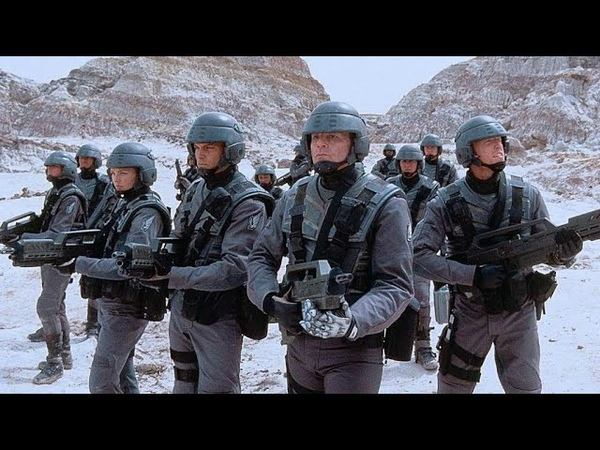 Звёздный десант 1997 16 Атака Арахнидов Starship troopers 1997 16 arachnid Attack
