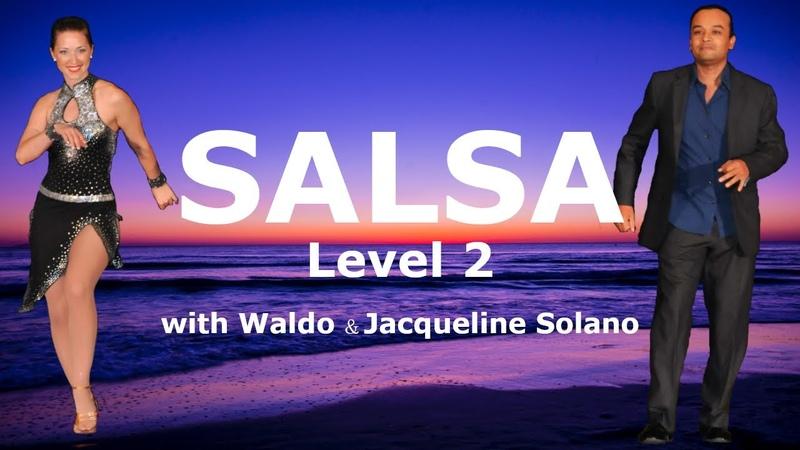 Salsa Dance Level 2 Mariposa Turn Pattern 💃📱🕺