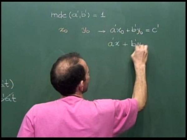 Aritmética Aula 29 Equações Diofantinas Como são as soluções