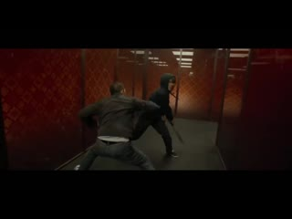 Rama vs. hammer girl  baseball bat man in a fight scene from the raid 2 [hd]