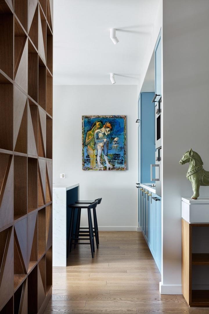 Квартира на Карамышевской набережной, 65 м² от дизайнера Оксаны Алексеевой