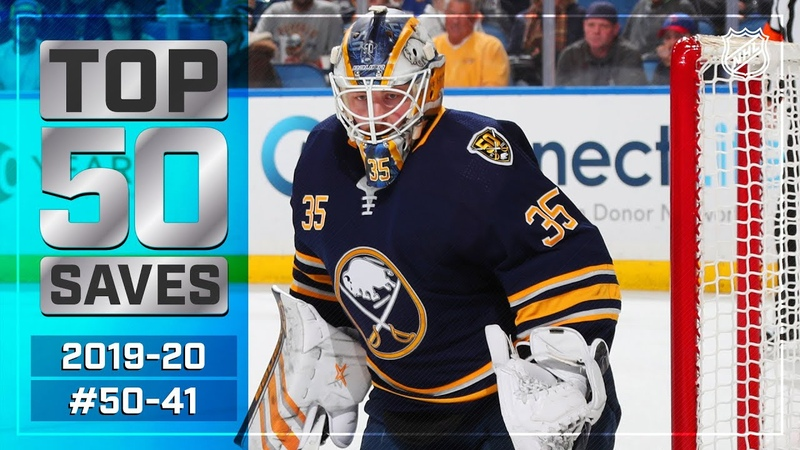 Top 50 Saves of the 2019 20 Regular Season 50 41 NHL