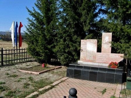 Памятник воинам-односельчанам, погибшим в годы Великой Отечественной войны в с. Моты
