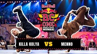 B-Boy Killa Kolya vs B-Boy Menno | Final | Red Bull BC One World Final Mumbai 2019