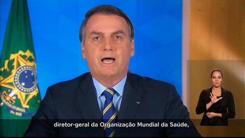 Bolsonaro Arrebenta em pronunciamento em Rede Nacional e os Governadores ficam num beco sem