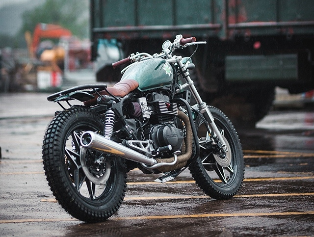 JM Customs: кастом Honda CB450 DX