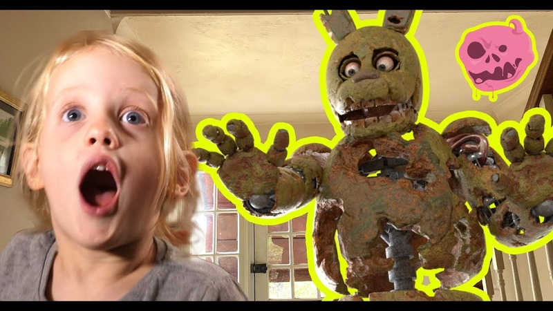 Ad real fnaf springtrap vs kid, What is Springtrap playing at?