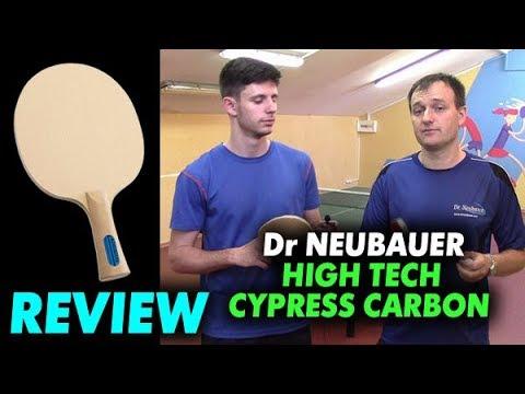 Dr Neubauer HIGH TECH CYPRESS CARBON - обзор нового атакующего основания для современной игры 40