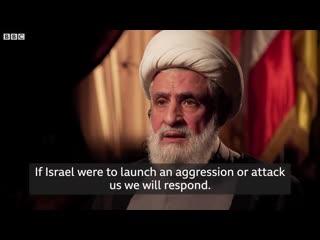 Hezbollah deputy leader naim qassem interview with bbc news dec 2019
