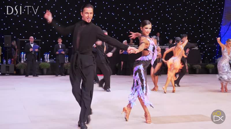 Morten Löwe Roselina Doneva (DEN) - Internationals 2019 - Professional Latin ¦ R2 Cha-cha-cha
