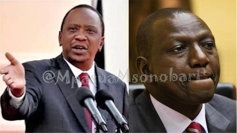 Uhuru Kenyatta wa Kenya ampa onyo kali naibu William Ruto dhidi ya siasa mbaya na ufisadi kimafumbo