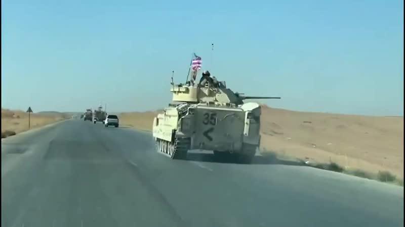 M2A2 Bradley в Сирии