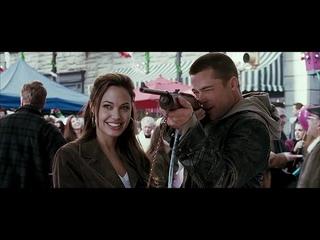 Mr and Mrs Smith (Angelina Jolie & Brad Pitt) TÜRKÇE DUBLAJ FULL HD