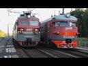 Разнообразие подвижного состава в окрестностях станции Денежниково Московской жд Часть 2