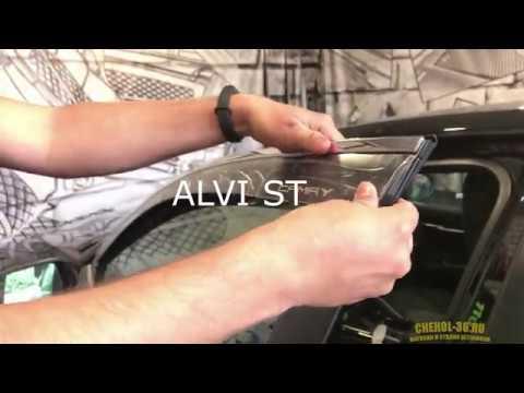 Дефлекторы ALVI на Toyota Camry XV70