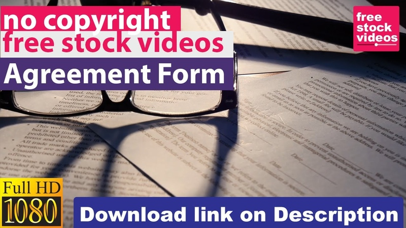 No copyright Justice court of law agreement form Royalty free stock footage free stock videos