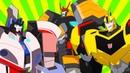 Сборник мультиков Трансформеры Роботы под прикрытием. Старые и новые знакомые роботы