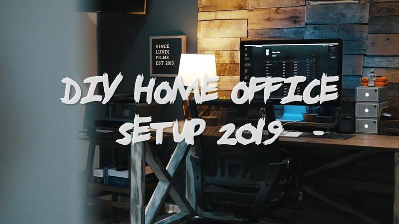 DIY Home Office Setup 2019 - Building My Dream Office