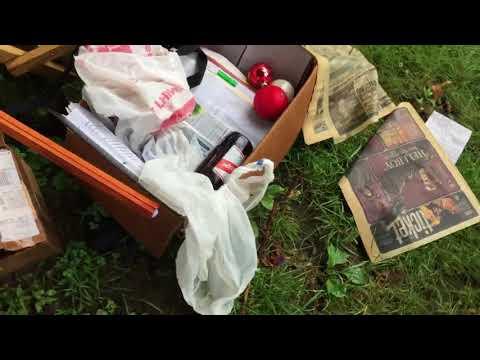 Свалка мусора на улицах в США