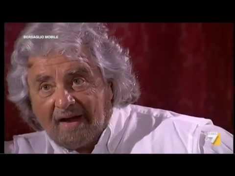 Beppe Grillo l'Intervista integrale di Enrico Mentana