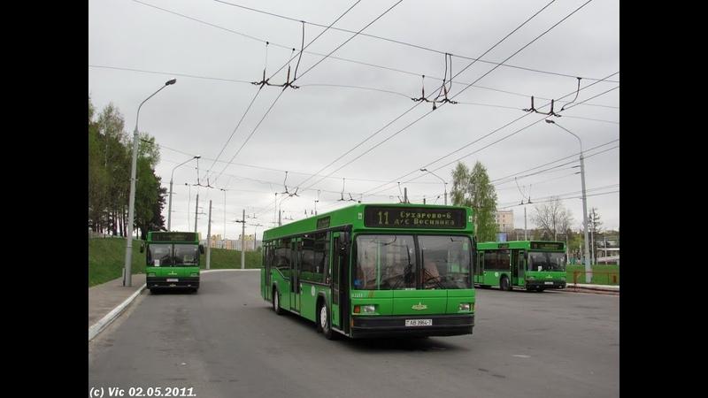 Автобус Минска МАЗ 103 гос № АВ 3964 7 марш 429 13 08 2019