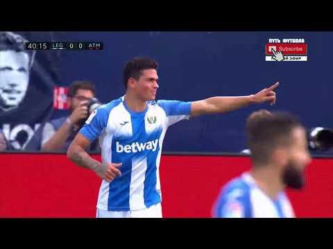Леганес - Атлетико Мадрид 0-1 Обзор Матча Чемпионата Испании 25.08.19 HD