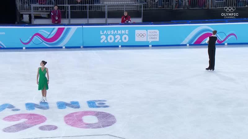 Лозанна-2020 фигурное катание, танцевальные пары,.mp4