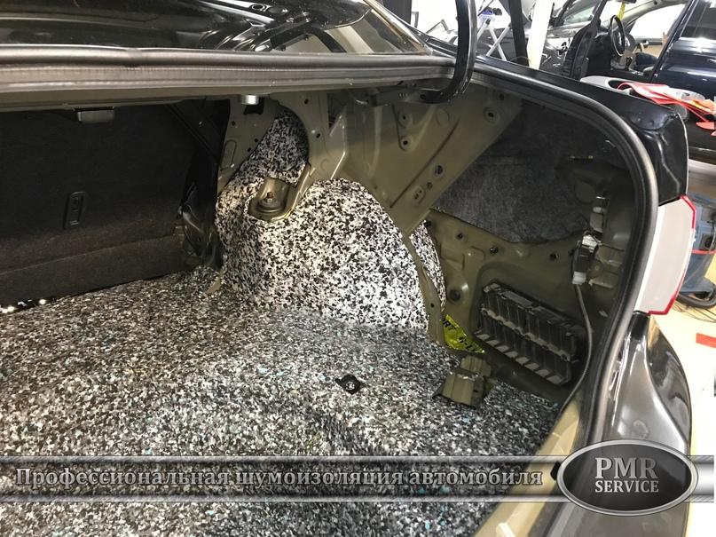 Шумоизоляция Toyota Corolla, изображение №19