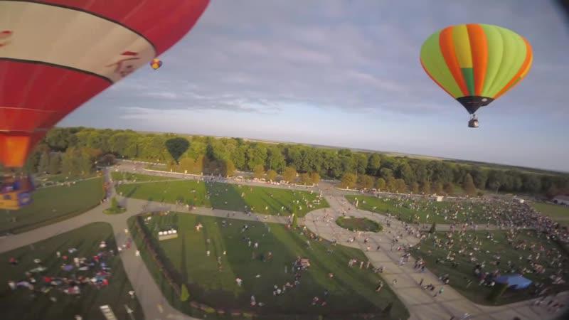 2019 Фестиваль «Небосвод Белогорья». Полет над Прохоровским полем