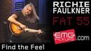 Richie Faulkner plays Find The Feel live on EMGtv (2016)