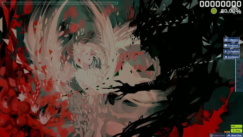   OSU!   Imperial Circus Dead Decadence - Uta [Himei] RX Инвалид Гейминг