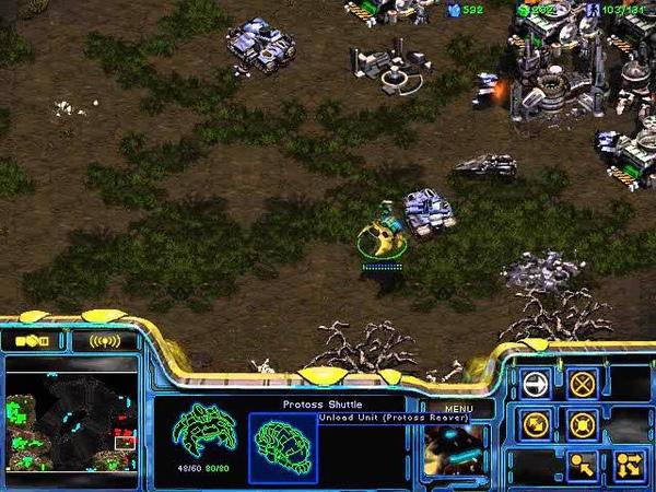 StarCraft Brood War [FPVOD] 04 08 2009 White Ra Два в одном Игра 2