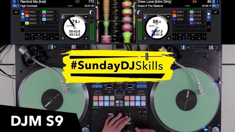 Pioneer DJM S9 w/ Serato DJ - Hip Hop vs DB vs Indie Mix!
