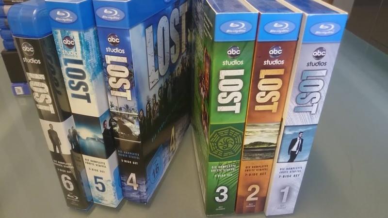 Мои Сериалы на Blu-Ray - Остаться в живых, Побег, Во все тяжкие, Секретные Материалы, Игра Престолов