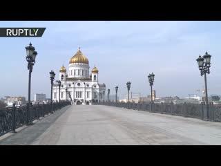 Самоизоляция в Москве: как выглядит столица после введения ограничений из-за коронавируса | день второй