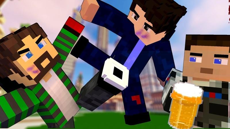 БОЙЦОВСКИЙ КЛУБ! СРАЗИ ЧЕМПИОНА! КОШМАРНЫЙ СОН АЛКАША В МАЙНКРАФТ ЧАСТЬ 3 Minecraft сериал