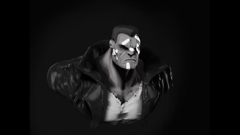 Marv (Sin Cyty) - Zbrush Speed Sculpt