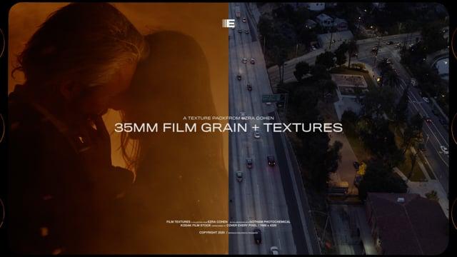 35mm Film Grain Textures