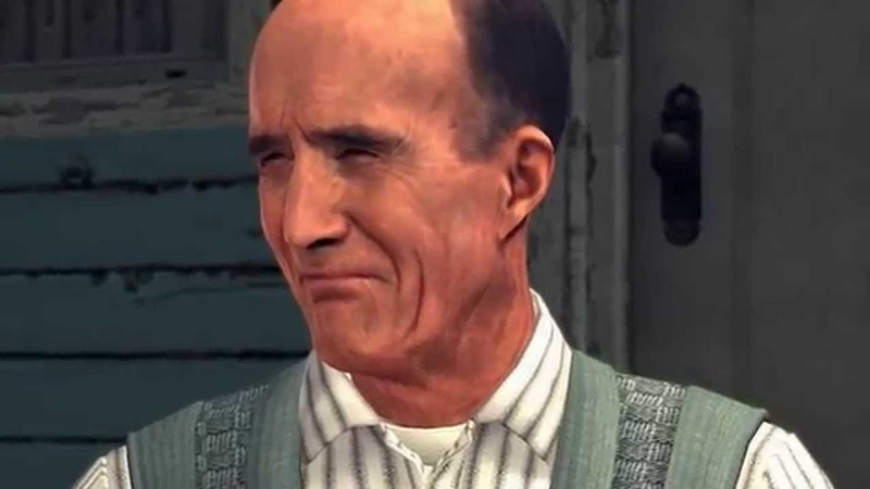 L A Noire requires you to read subtle facial cues to tell if someone is lying