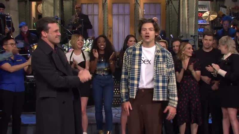SNL Thank you, Harry Styles and Jon Hamm! GOODNIGHT!