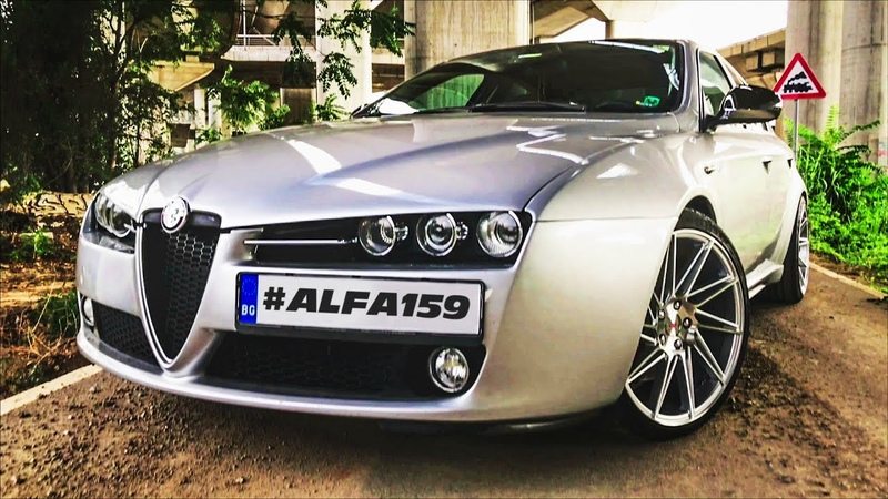 Getting pleasure with Alfa Romeo 159 TI [brand new 19 inch wheels and other mods]