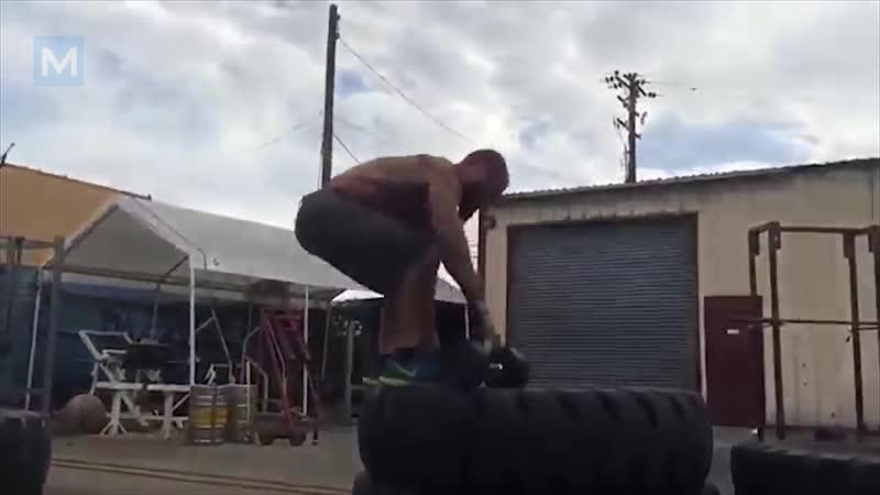 Tattooed Workout Monster Chris Luera Muscle Madness