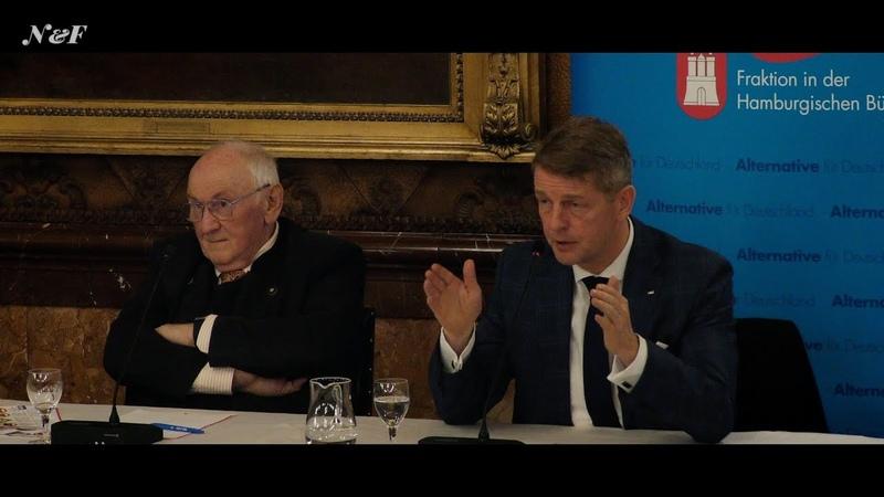 Hitzige Diskussion über Klimawandel und CO2 Bürger fragen Karsten Hilse (AfD) und Heinrich Duepmann
