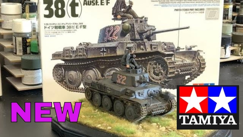 Building the New Tamiya 1/35 38t plastic model kit