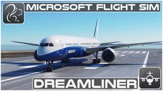 Dreamliner! (Boeing 787) - Microsoft Flight Simulator