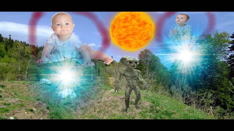 СМОТРИТЕ БЫСТРЕЕ / больше сотни младенцов похищают нло попало на видео /реке моются пришельцы