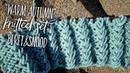 Пышный УЗОР СПИЦАМИ Warm Autumn для комплекта БеретСнуд, часть 1 / Knitted snood