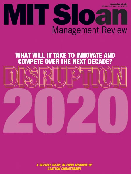 2020-03-01 MIT Sloan Management Review