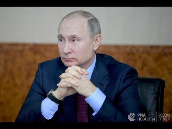 Путин призвал усилить ответственность за суицидальные группы в соцсетях